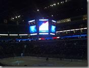 NHL game at the BankAtlantic Center