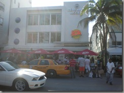 The location of the Scarface chainsaw scene - now a Johnny Rockets