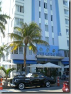 One of the Art Deco hotels lining Ocean Drive