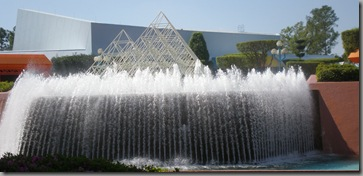 Not an ordinary fountain, this one is upside down!