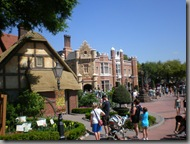 Makes you feel like you're home, the England area of the World Showcase