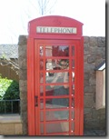 Apparently they have British phone boxes in Canada, although not according to our Canadian friends...